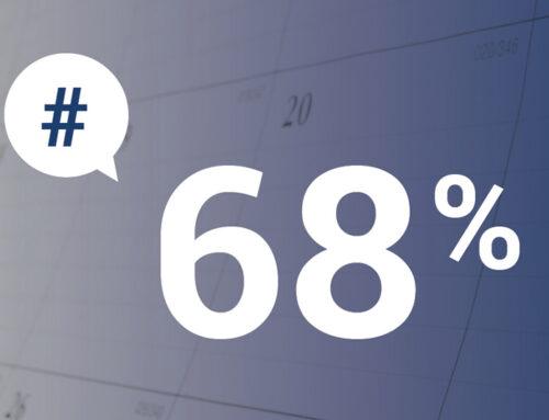 Le chiffre du mois  68 %